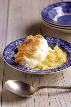 Baked Sago pudding!!! A traditional Afrikaans dessert. The recipe is on the website.