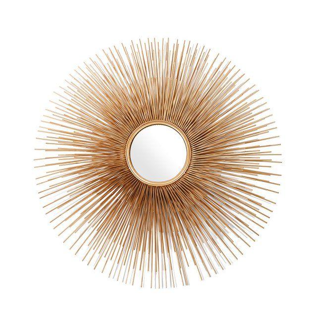17 meilleures id es propos de miroir soleil sur pinterest miroir en forme - Que mettre au dessus d un buffet ...