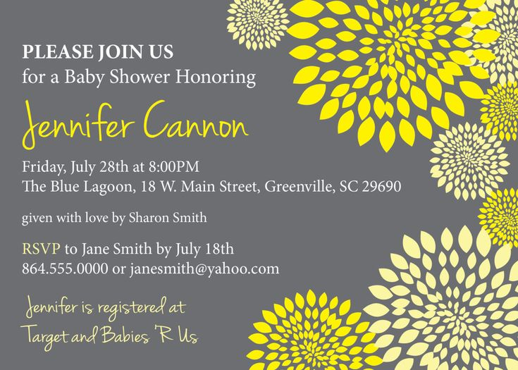 23 best babyshower invitations monikas images on pinterest grey and yellow baby shower invitations google search filmwisefo