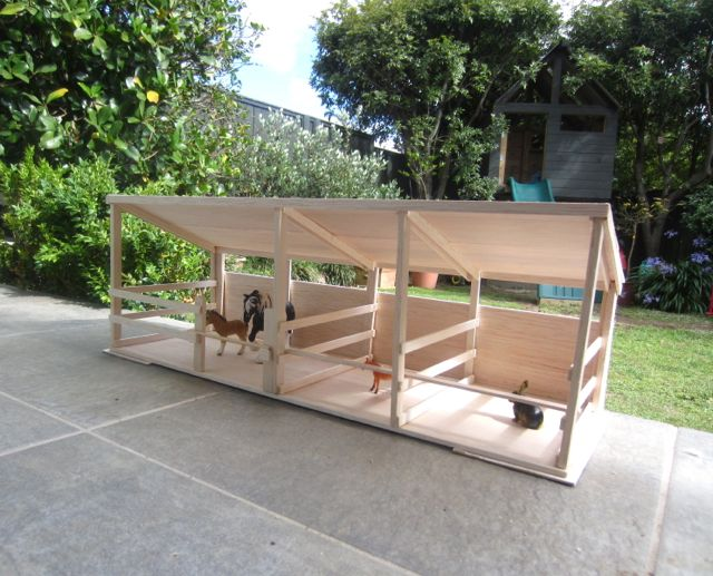 Lucy and i diy horse stable things to make for toy for How to build horse barn