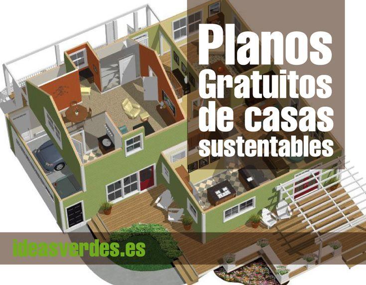Construye tu casa sustentable con estos planos gratuitos for Arquitectura sustentable pdf