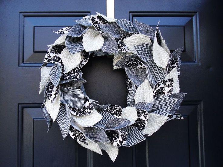 """""""Oh, Christmas Tweed"""" Wreath Tutorial"""