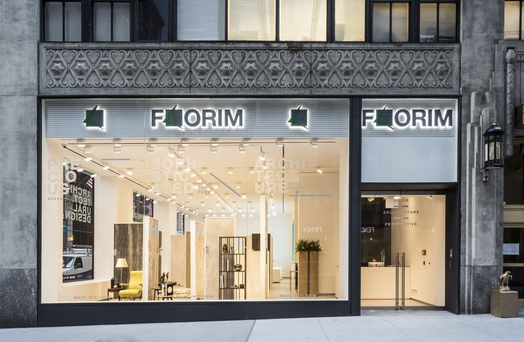 Florim Flagship Showroom In Manhattan Nyc On Madison Avenue At 32nd Street Florim