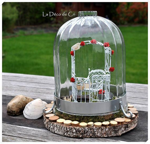 les 25 meilleures id es de la cat gorie cloche en verre deco sur pinterest cloche en verre. Black Bedroom Furniture Sets. Home Design Ideas