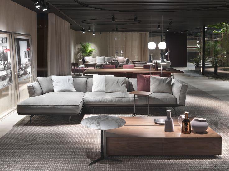 #FLEXFORM ESTE sectional #sofa #design Antonio Citterio. Find out more on www.flexform.it