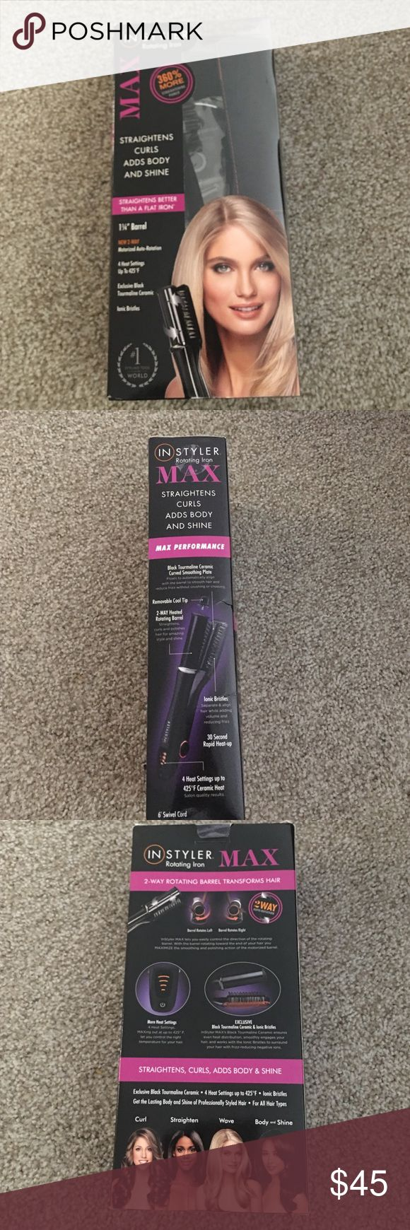 Instyler rotating iron Instyler Max rotating iron Accessories Hair Accessories