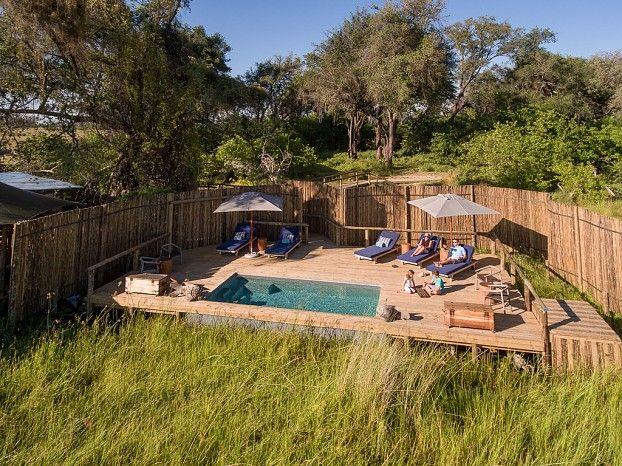 LIttle Vumbura pool area