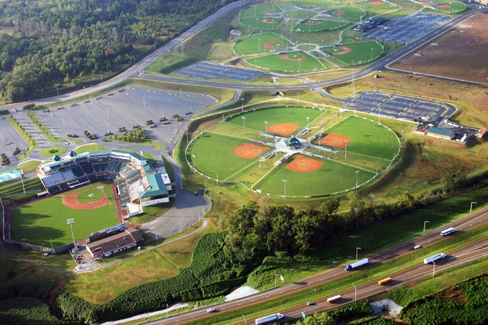 The Ballpark at Jackson, TN   Jackson Generals