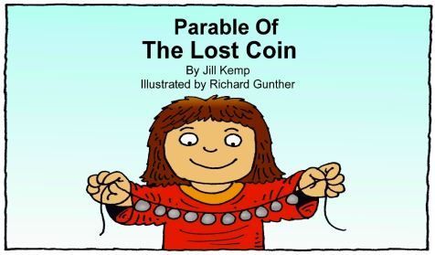 Story book (in pdf) of the parable of the lost coin for download. Nice pictures