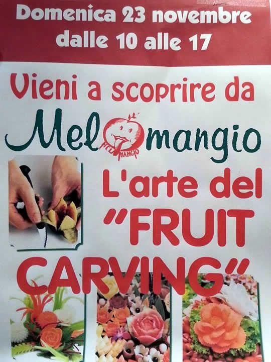 Arte del fruit carving a Brescia http://www.panesalamina.com/2014/30800-vieni-a-scoprire-larte-del-fruit-carving-a-brescia.html