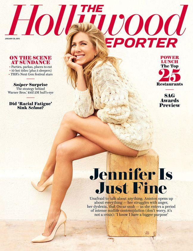 Jennifer Aniston Reveals Struggles With Dyslexia, Anger; Shrugs Off Oscar Snub