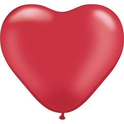 how to make balloon shapes heart