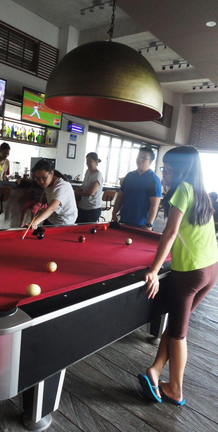 Focus and catch your target - Mahogany Hotel Nusa Dua Bali