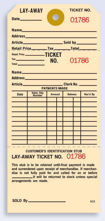 : Manila Layaway Tag - Products by Industry Custom Forms Bills of Lading Business Cards Labels - Tags Stationery Uniforms - Work T-Shirts Register Forms Receipt Books Work Order Invoices Invoice Forms Marketing - Advertising Door Hangers Forms by Type Purchase Order Forms Postcards Brochures Printing Posters Personalized Notepads Upload & Print Your Form Weatherproof Labels Printed Envelopes Claim Check Invoices