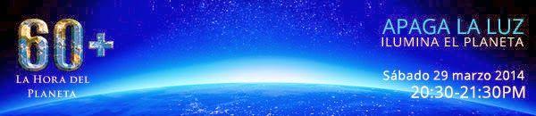 Un Mundo en Paz: Apaga la luz, ilumina el planeta