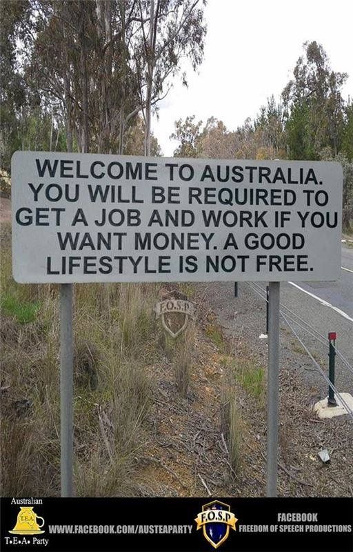 This should be at every US border crossing or entry........OMG.......AND I SAY THAT THIS SHOULD BE POSTED IN EVERY STATE ON THE BORDER......LOVE THIS PIC