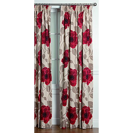 elemis curtains harper ruby extra large 205cm drop blinds curtains