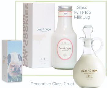 Farmhouse Fresh Sweet Cream Body Milk. Has velvety notes of warm sweet cream. A true treat to moisturizer each morning, afternoon and night. In addition to hydrating the skin and making it luminously smooth, the high-quality ingredients provide other cosmetic benefits. It is non greasy, light weight loaded with Vitamin E and E, plus it's infused with a blend of natural oils that provide lasting softness to skin: Rice Bran oil, Jajoba Seed oil, Sweet Almond, Avocado and Sesame.