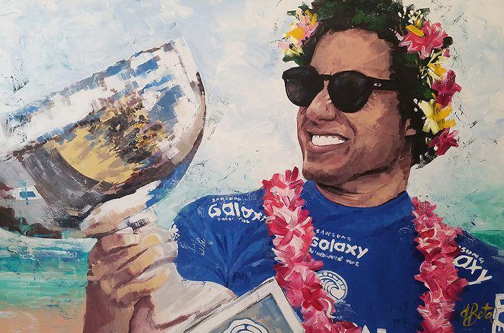 Adriano de Souza Mineirinho - Acrylic on Canvas 100x150cm