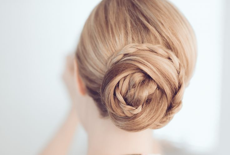 Bröllop   face by linda Wedding updo with braids