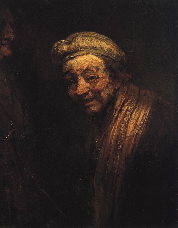 Rembrandt - Self-portrait as Zeuxis laughing