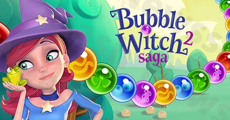 Bubble Witch Saga 2 Una Aventura Fantástica - Juegos para Niños