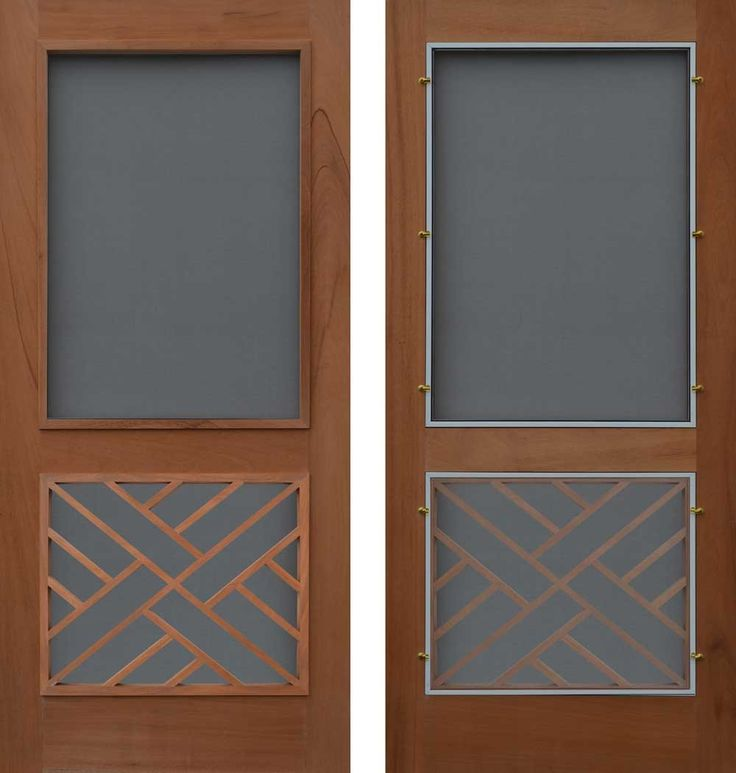 110 best front door colours images on pinterest doors for Entry door with built in screen