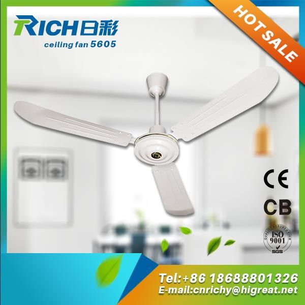 Modern New 56 Inch Aluminum Motor Ceiling Fan With Low Noise