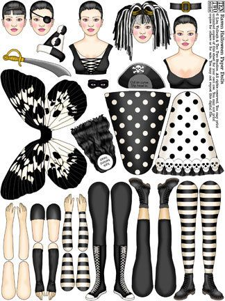 Raven Halloween Paper Dolls* Let's connect at social media Twitter #QuanYin5 YouTube QuanYin5 Linked In QuanYin5 Pinterest QuanYin5 * The International Paper Doll Society by Arielle Gabriel *