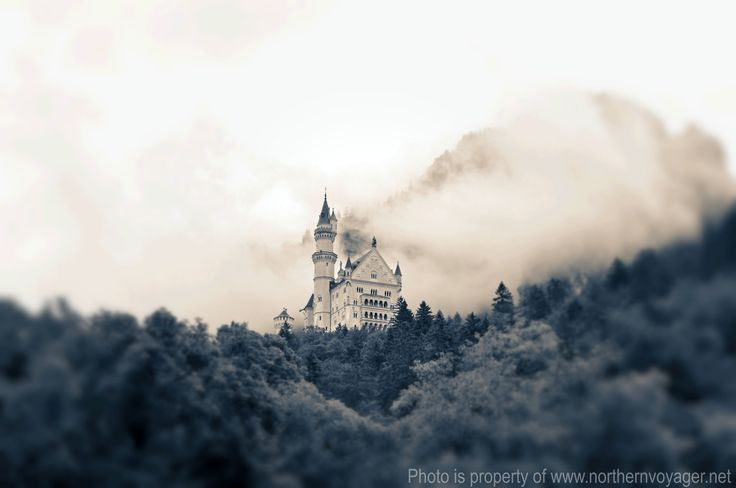 Neuschwanstein Castle Bavaria Germany Travel Photography Image German Fairytale King www.northernvoyager.net Photo by Lee Mailer