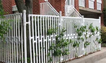 Homemade Pvc Fence Different And Low Upkeep Garden