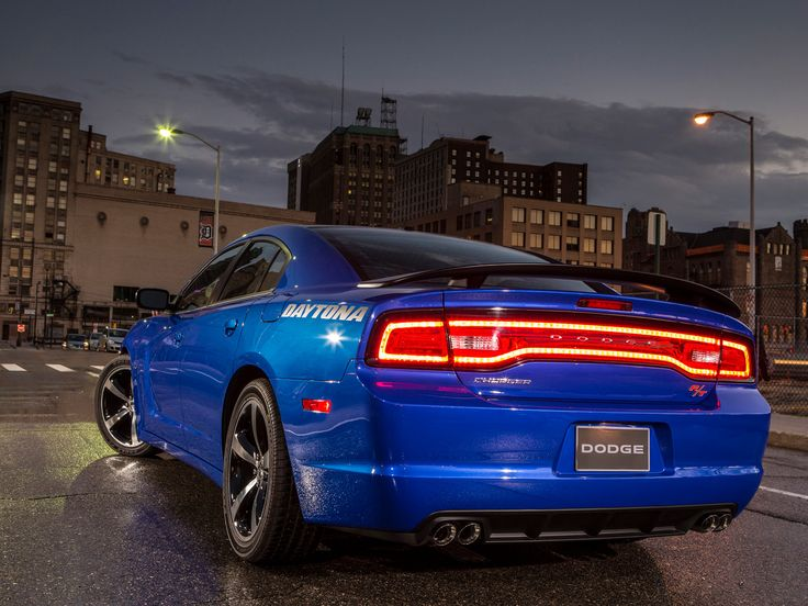 2013 Dodge Charger Daytona. Ive always loved the tail lights<3