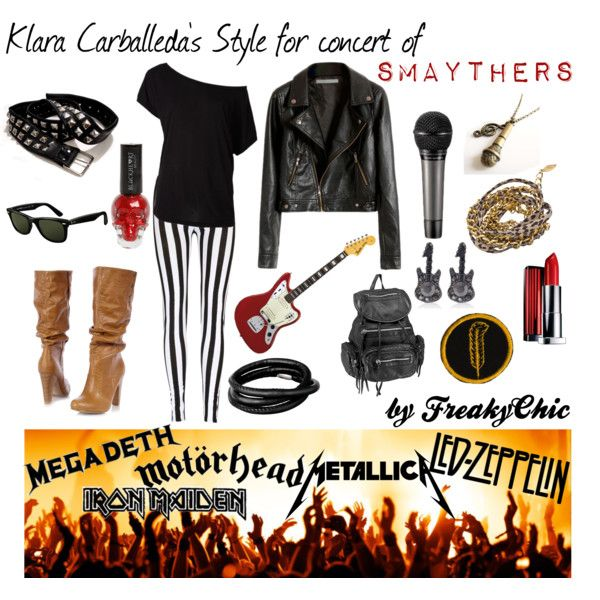 What To Wear To A Rock Concert... | Rock Chick | Pinterest | Concerts Polyvore Fashion And Pants