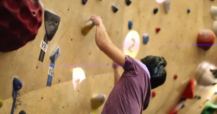 All you need is a little code and a projector to make climbing a super competitive sport.