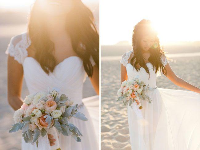 Santa Monica Beach Wedding Christina Kenny