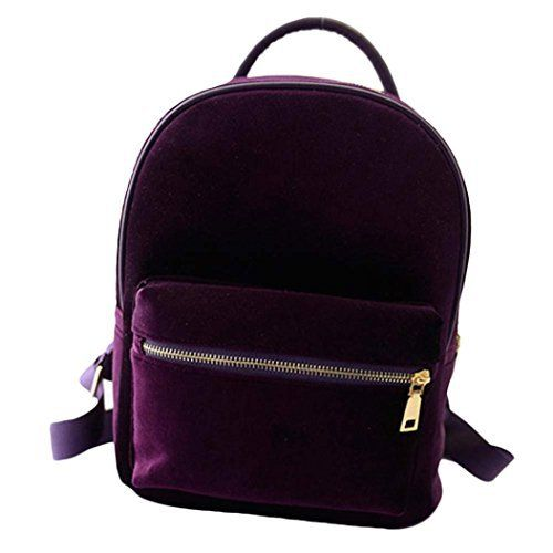 New Trending Luggage: Sagton® Girls Fashion Gold Velvet Small Rucksack Backpack School Book Bag (Purple). Sagton® Girls Fashion Gold Velvet Small Rucksack Backpack School Book Bag (Purple)   Special Offer: $9.89      466 Reviews Specifications: 100% brand new and high quality. Quantity: 1 PC Fashion Design Style:Fashion School Hiking Bag If you want to show your energetic and passion,...