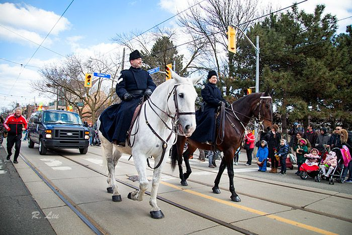 Beaches Easter Parade 2018. Photo taken and made by Audrey Liu.