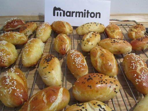 Recette de Mauricettes ou petits pains salés
