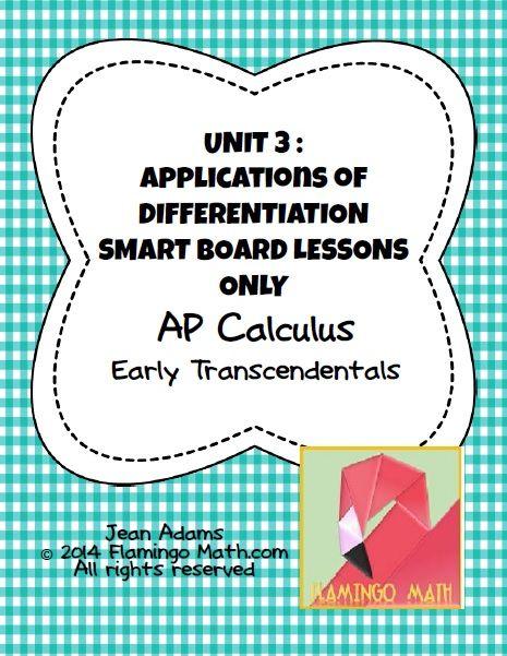 Unit 4 Contextual Applicationsap Calculus