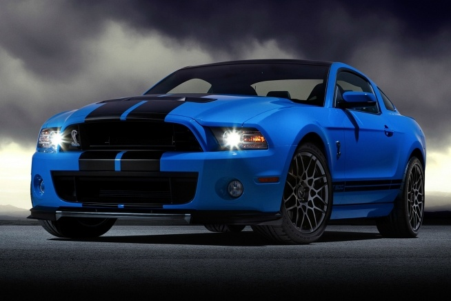 2013 Mustang. Oh yeah, I'd drive it.