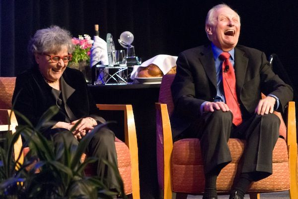 Arlene Alda and Alan Alda