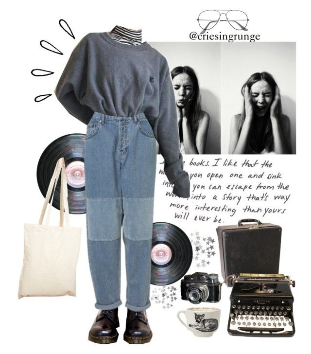 """""""Untitled #879"""" by plumpyprincess ❤ liked on Polyvore featuring H&M, Dr. Martens, Topshop, GET LOST, Borders&Frontiers, Sir/Madam, Old Navy and ZeroUV"""