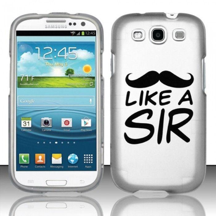 "Humor ""Like a Sir"" Candy Case for Samsung Galaxy S3 III i9300"