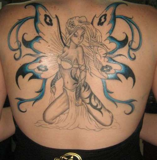 Fairy Tattoo | 25 Magically Fairy Tattoos | CreativeFan