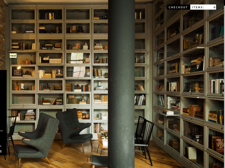 Hale Bookcases At The Wythe Hotel Barrister Stack Able Made From