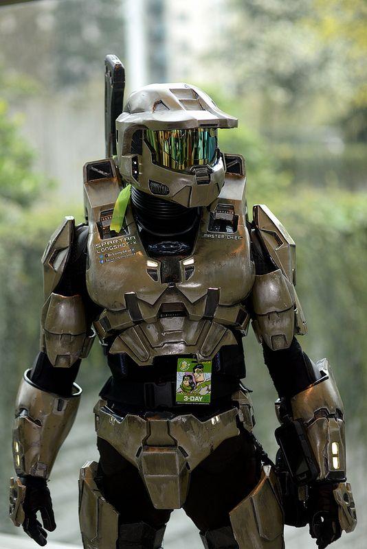 Master Chief (Halo) | Emerald City Comic Con #ECCC2014