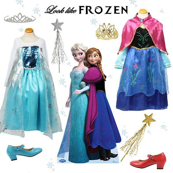 Prachtige Frozen jurken om je Frozen kinderfeestje compleet te maken! Zie meer informatie: http://www.laluzz.nl/catalogus/prinsessenjurken:1_frozen-nieuw/