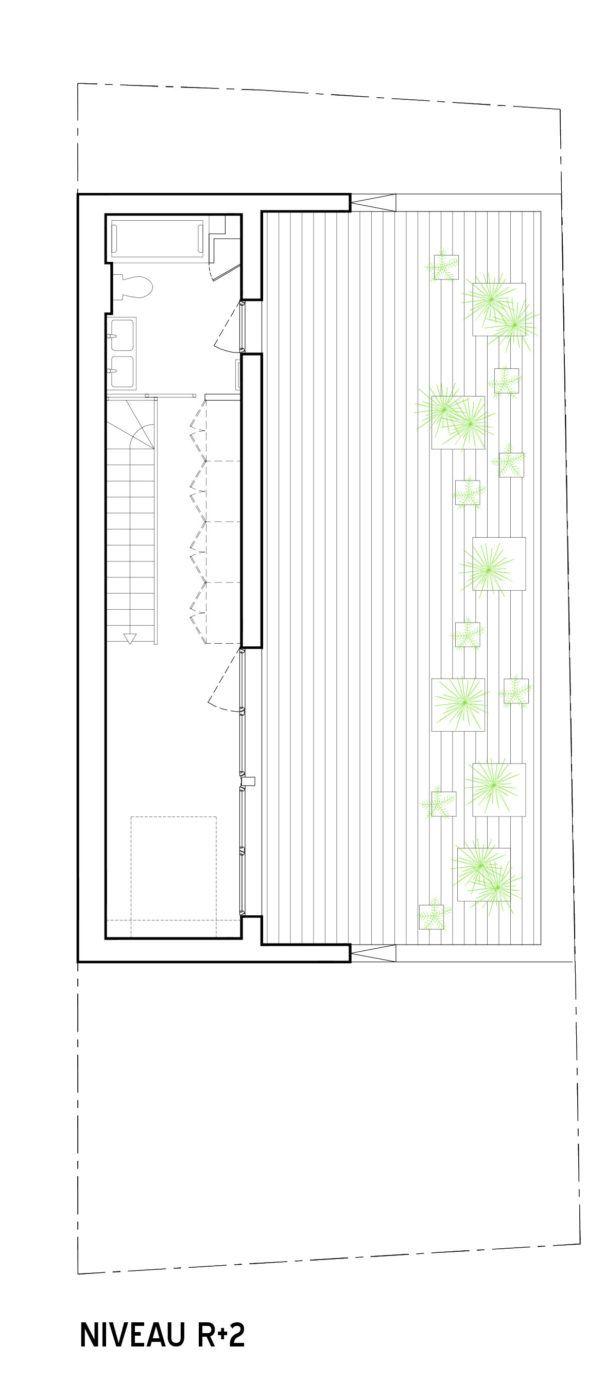 2a design creates a modern house in orgères france arch pinterest villas create and modern