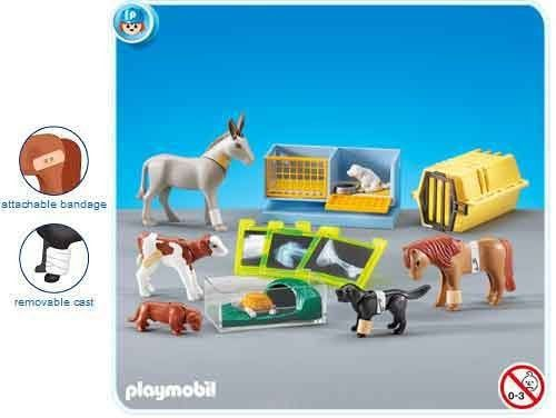 Playmobil 7440 Animal Clinic Accessories by Playmobil. $21.99. This item is part of the Direct Service range. This range of products are intended as accessories for or additions to existing Playmobil sets. For this reason these items come in clear plastic bags or brown cardboard boxes instead of a colorful retail box.. 2010 New Add-On Style. Makes a great compliment to the Animal Clinic #4343