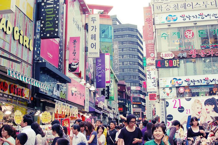myeongdong shopping | Tumblr